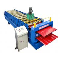 Quality Glazed Panel Color Steel Double Layer Roll Forming Machine CE Sheet Metal Roll Former for sale