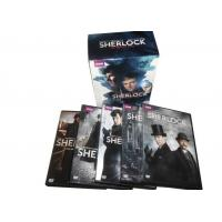 Wholesale HD Blu Ray Movie Box Sets Sherlock The Complete Series Play Movie Episodes from china suppliers