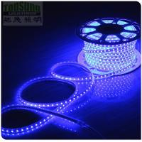 Wholesale 100m 230v AC led strip 5050 waterproof cuttable strips lights flexible blue color from china suppliers