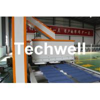 Wholesale Colorful Stone Chip Coated Steel Roof Tile Forming Machine from china suppliers