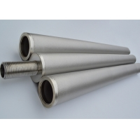 China Fluid Filtration metal Sintered filter Pipe , Porous tube Cylinder with high strength and sturdy and durable on sale