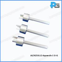 Wholesale Stainless Steel Australia and New Zealand Standard Plug-Socket Gauge (AN/NZS3112) from china suppliers