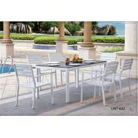 Wholesale Fashion White Wicker Patio Furniture , Metal Garden Furniture Sets from china suppliers