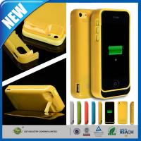 Wholesale Thin Rechargeable Cell Phone Battery Case Charger Pack 4200mAh For Iphone 5C from china suppliers