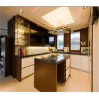 Wholesale white small kitchen design kitchen cabinet factory from china suppliers