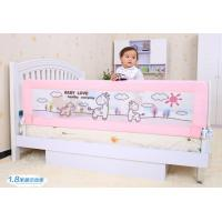 Wholesale Pink Toddler Bed Safety Rail / Folding Convertible Bed Gurad Rails from china suppliers