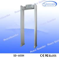 China SD-600H Multi-zones Chinese security door frame metal detector price for sale on sale