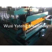 Wholesale Automatic PLC Control Glazed Tile Roll Forming Machine With Chain Transmission from china suppliers