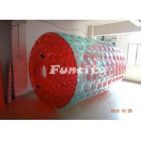 Wholesale Red And Green Colorful Inflatable Water Walking Roller For Adult from china suppliers