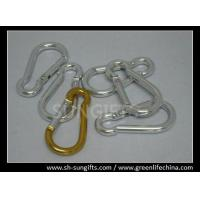 Wholesale Silver color promotional carabiner key chain from china suppliers