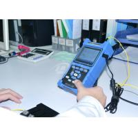 Wholesale Shock Proof / Dust Proof USB / RS-232 Fiber Optic Test Equipment Palm OTDR Tester from china suppliers