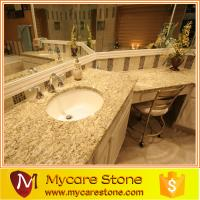 Wholesale Giallo ornamental best price granite one peice bathrom, vanitytop for sale from china suppliers