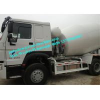 Wholesale SINOTRUK HOWO 8 CBM/m³ Volume Tank Cement Mixer Truck,  6 x 4 Driving 380HP Engine from china suppliers