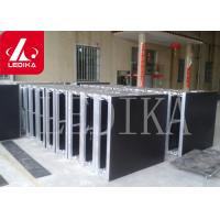 Buy cheap Adjustable Aluminum Risers Stage Roof Truss Mobile Stage Platform 0.6M Height from wholesalers