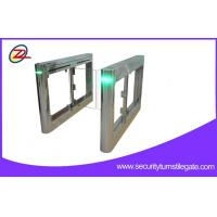 Wholesale OEM Retractable RFID Glass Swing Gate Barrier Gate for Access Control System from china suppliers