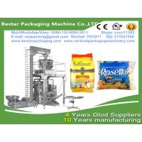 Wholesale MultiHead Weigh Filling VFFS Packaging Machine for Bags food packing equipment for frozen dumplings & frozen ravioli from china suppliers
