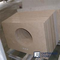 Wholesale Crema Marfil Beige Marble Bathroom Vanity Top from china suppliers