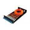 Buy cheap SC / LC Fiber Optic Distribution Frame ODF 8 / 16 Port Fiber Optic Patch Panel SX / DX from wholesalers