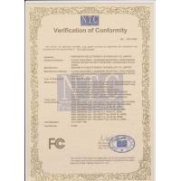 WISDOM OPTOELECTRONICS TECHNOLOGY CO.,LIMITED. Certifications