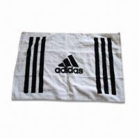 Wholesale Sports Towel, Customized Logos and Sizes are Accepted, Made of 100% Cotton Velour from china suppliers