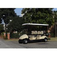 Wholesale Popular Outdoor 6 Passenger Golf Carts 6 Seater With 48V 25A Computer Controlled Charger from china suppliers