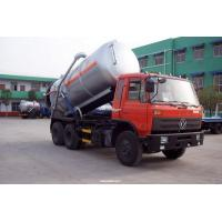 Wholesale 10m2-12m3 dongfeng RHD 6X4 vacuum sewage truck from china suppliers