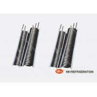 Wholesale Hot Water Coil Heat Exchanger / Stainless Steel Evaporator Coil Easy clean from china suppliers