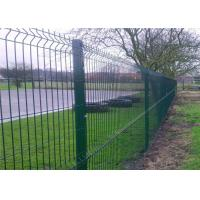 Wholesale Professional Plastic Coated Garden Wire Mesh Fencing With Heavy Steel Structure from china suppliers