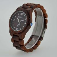 Wholesale Eco Friendly Bewell Wooden Wrist Watch Waterproof With Customised Logo from china suppliers