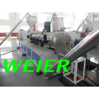 Wholesale WPC / PVC Plastic Recycling Machine , 90kw Plastic Pelletizing Machinery from china suppliers