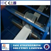 Quality Fully Automatic Rolling Shutter Forming Machine PU Foam Production Line 0.22 - 0.35mm Thickness for sale