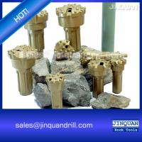 Wholesale construction power mining quarry rock drilling hammer bits DTH drill tool from china suppliers