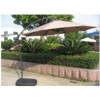 Wholesale New Design Waterproof Side Pole Aluminum Square Patio Umbrella For Sale from china suppliers