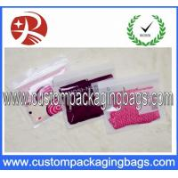 Wholesale OPP / CPP Plastic Clear Ziplock Bags Custom For Garment Packaging from china suppliers