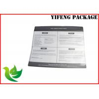 Buy cheap SGS Certificate Clear Window Zip Lock Plastic Bags For Clothes / Garment Packaging from wholesalers