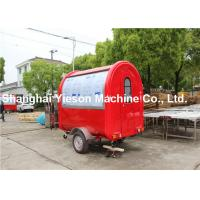 Wholesale ISO9001 CE Mobile Kitchen Concession Trailer Strong Structure Ice Cream Food Cart from china suppliers