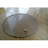 China Stainless Steel Crimped Wire Mesh Barbecue Grill Net With Food Grade Stainless Steel Wire on sale