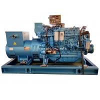 Wholesale Water Cooling Rated 90KW Marine Diesel Generator with Three Phase Electric Start from china suppliers