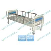 Wholesale Two Functions foldable Manual Hospital Bed with sponge or coir fiber mattress from china suppliers