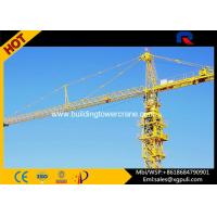 Wholesale Slewing Speed 0.6 R/Min City Lifting Building Tower Crane Jib Length 50M from china suppliers