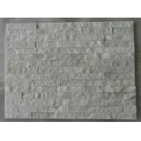 Buy cheap White Quartize Culture Stone /Stone venner from wholesalers