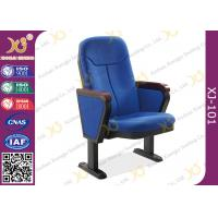 Wholesale 560mm Center Distance Fabric Cushion Auditorium Chairs Meeting Room from china suppliers