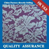 Wholesale YAX China supplier wholesale YX6535 Fashional special design wide fancy flower lace fabric,new fashion lace fabric from china suppliers
