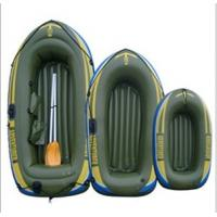 Wholesale 0.55mm PVC Inflatable Boat Army Green For Three Person from china suppliers