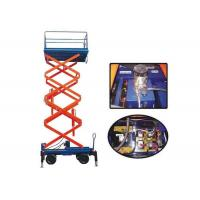 Wholesale 300KG Capacity Electric Hydraulic Mobile Scissor Lift 11M Lifting Height from china suppliers