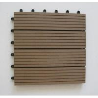 Wholesale Outdoor Waterproof WPC Composite Decking Floorings Recycled for Park / Garden from china suppliers