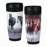 Wholesale Plastic Travel Mug, Reusable/100% Recycle/Non-smell/Leak-proof, OEM Orders are Accepted from china suppliers