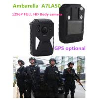 Wholesale OEM 1296P HD IR Night Vision Wearable Video Camera , 8 Hours Recording from china suppliers