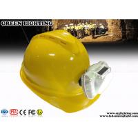 Wholesale 230g 3W Cool White Cordless LED Mining Cap Lamp 13000 Lux Brightness Anti - Explosive from china suppliers