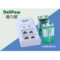 Wholesale 9V Rechargeable Battery Charger with dual slots and foldable plug from china suppliers